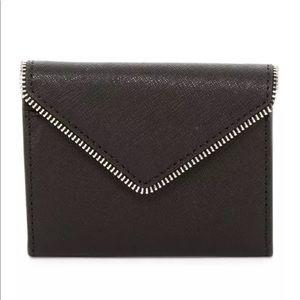Rebecca Minkoff Molly Metro BLACK Leather Wallet